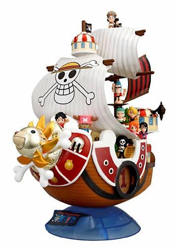 ワンピース ワンピースすっげェ夢の海賊船 サウザンドサニー号dx