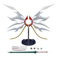 スーパーミニプラ GEAR戦士電童 フェニックスエール&アカツキの大太刀セット【プレミアムバンダイ限定】