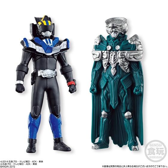 ソフビヒーロー 仮面ライダー ドライブ×鎧武フルスロットルスペシャル_2