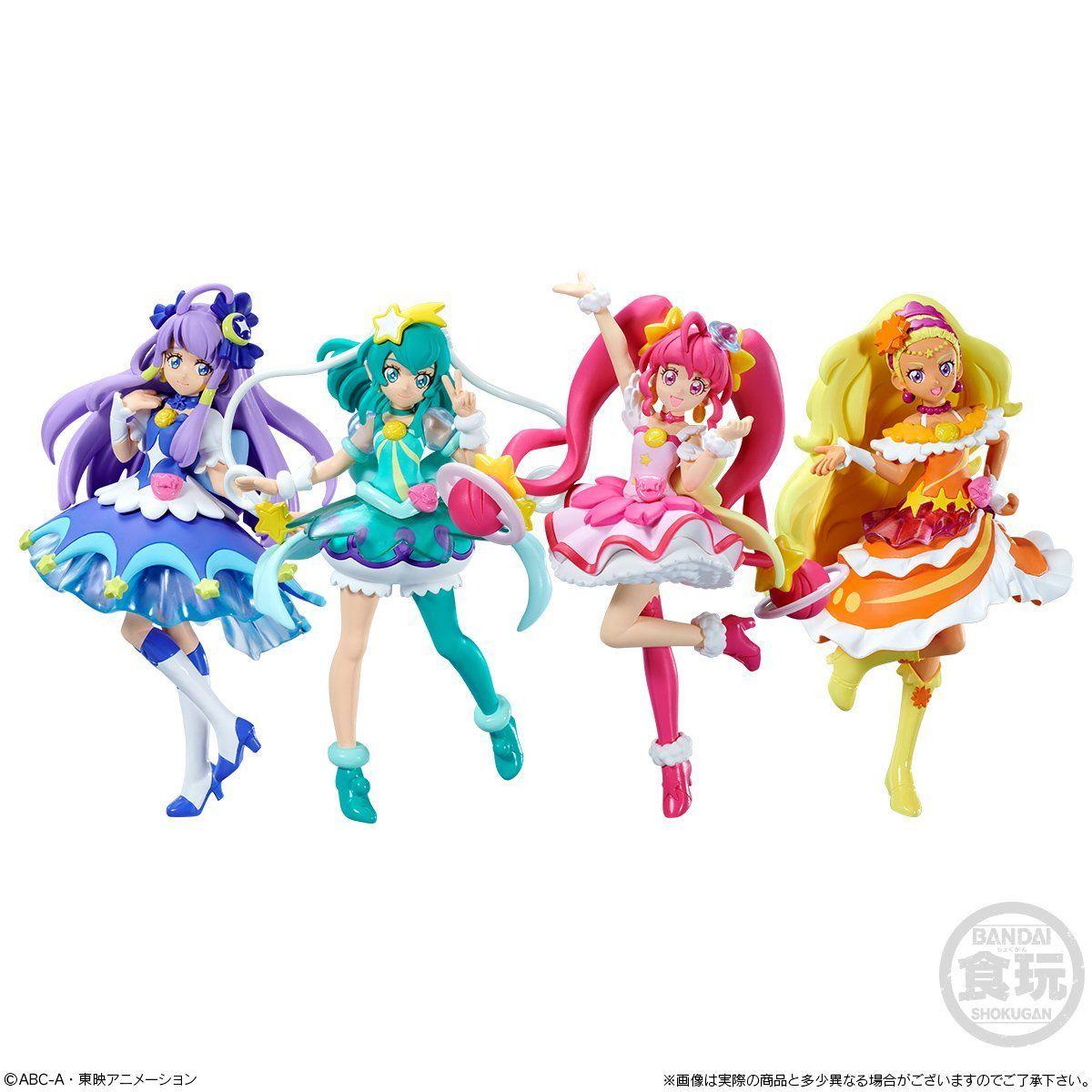 HUGっと!プリキュア  キューティーフィギュア4 Special Set_6