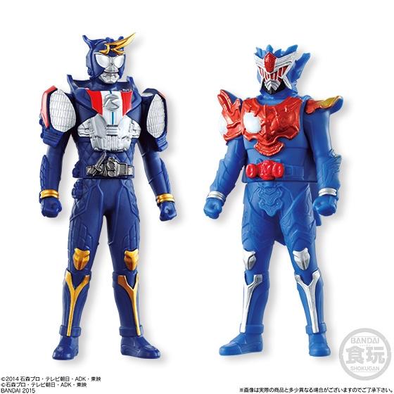ソフビヒーロー 仮面ライダー ドライブ×鎧武フルスロットルスペシャル_5