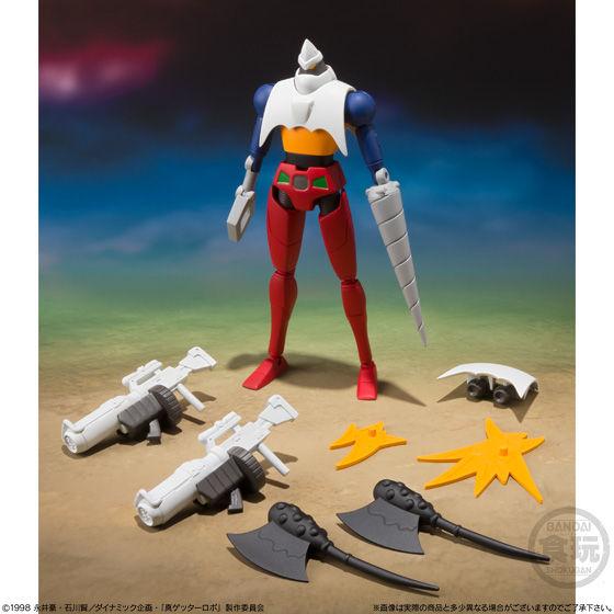 スーパーミニプラ  真(チェンジ!!)ゲッターロボ Vol.1_6