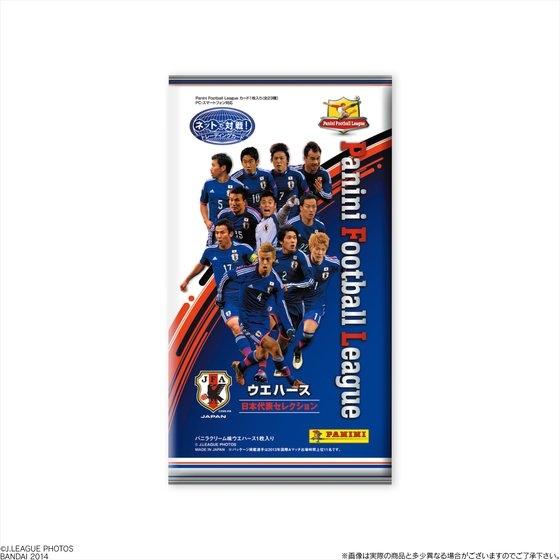 PANINI FOOTBALL LEAGUE ウエハース 日本代表セレクション_0