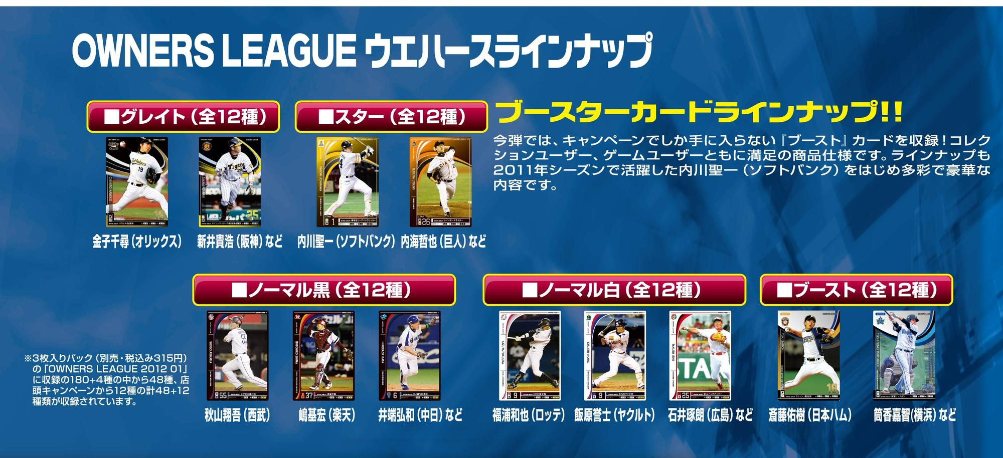 OWNERS LEAGUE 2012ウエハース 01_1