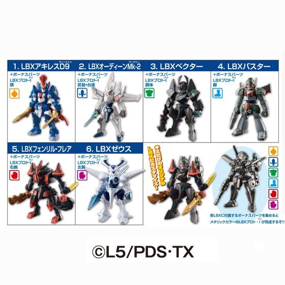 ダンボール戦機 LBXコレクション6_1