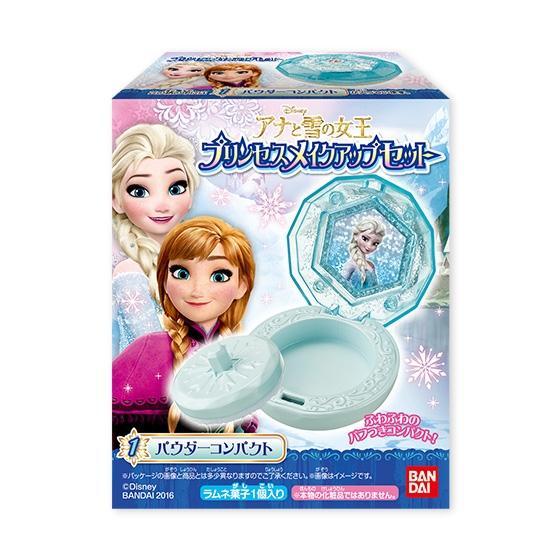 アナと雪の女王 プリンセスメイクアップセット|発売日:2016年2