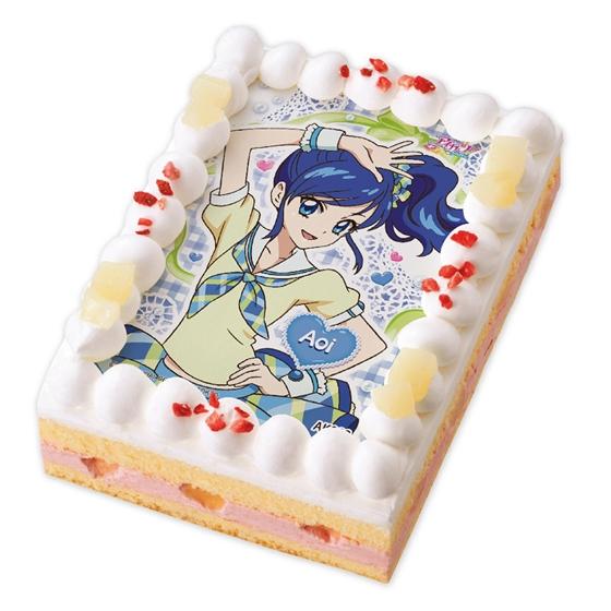 キャラデコプリントケーキ アイカツ!_2