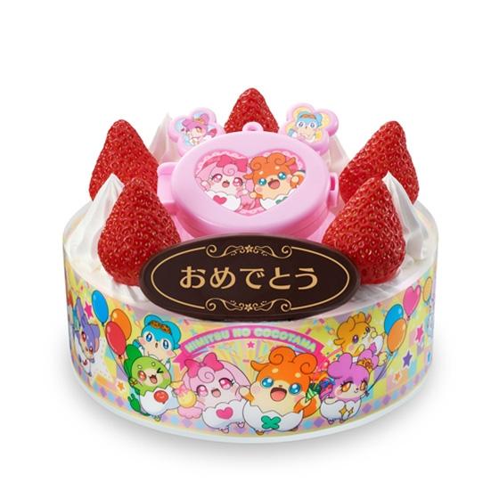 キャラデコお祝いケーキ かみさまみならい ヒミツのここたま_0