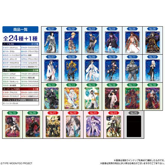 Fate/Grand Orderウエハース7_8