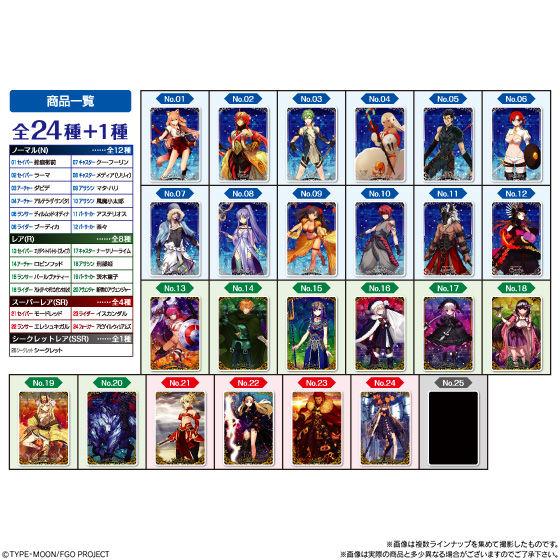 Fate/Grand Orderウエハース5_8