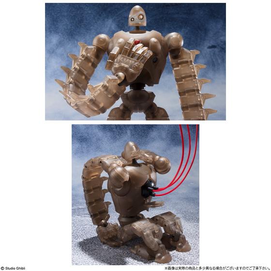 想造ガレリア ロボット兵 FULL ACTION Ver. (MECHANICAL CLEAR)&ムスカ FULL ACTION Ver._5