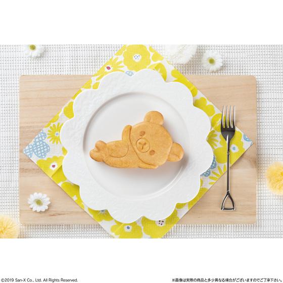 もっちりリラックマ焼き キャラメルクリーム入りハニーパンケーキ風味 _3