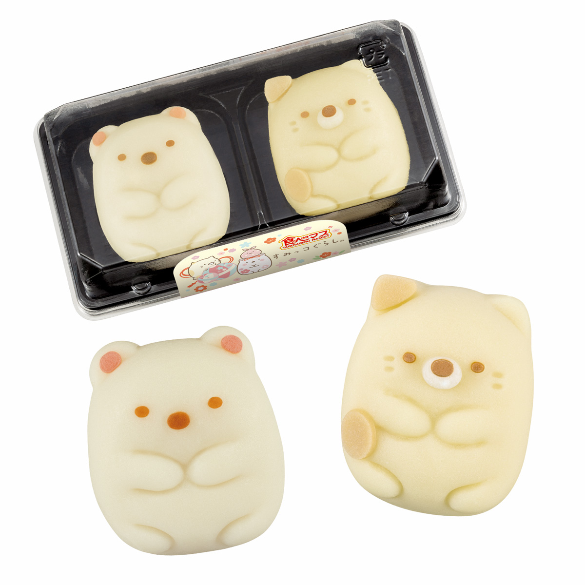 食べマス すみっコぐらし (しろくま・ねこ)_0