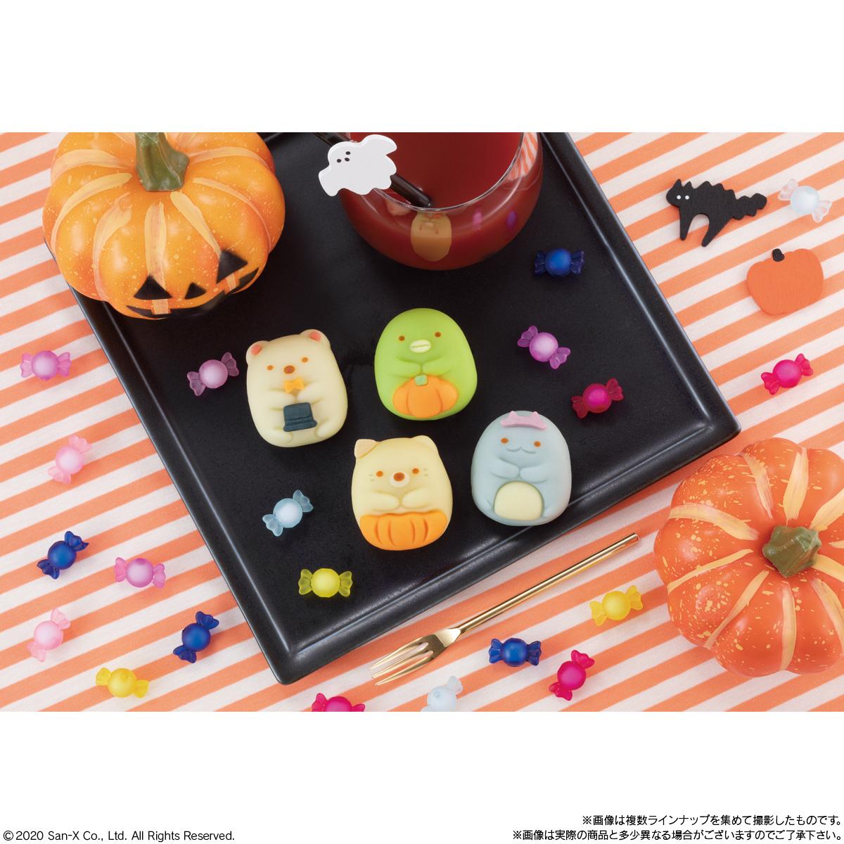 食べマス すみっコぐらし ~秋のおめかしすみっコ~ しろくま・ぺんぎん?_3