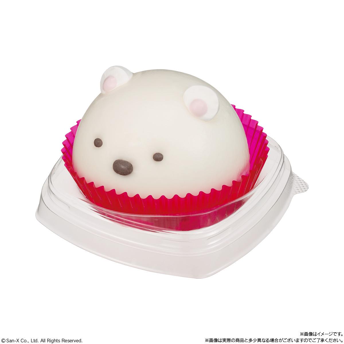 キャラデコmini すみっコぐらしのケーキ しろくま_2