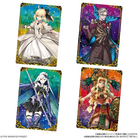 Fate/Grand Orderウエハース3_4