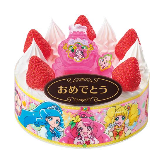 キャラデコお祝いケーキ ヒーリングっど プリキュア_0