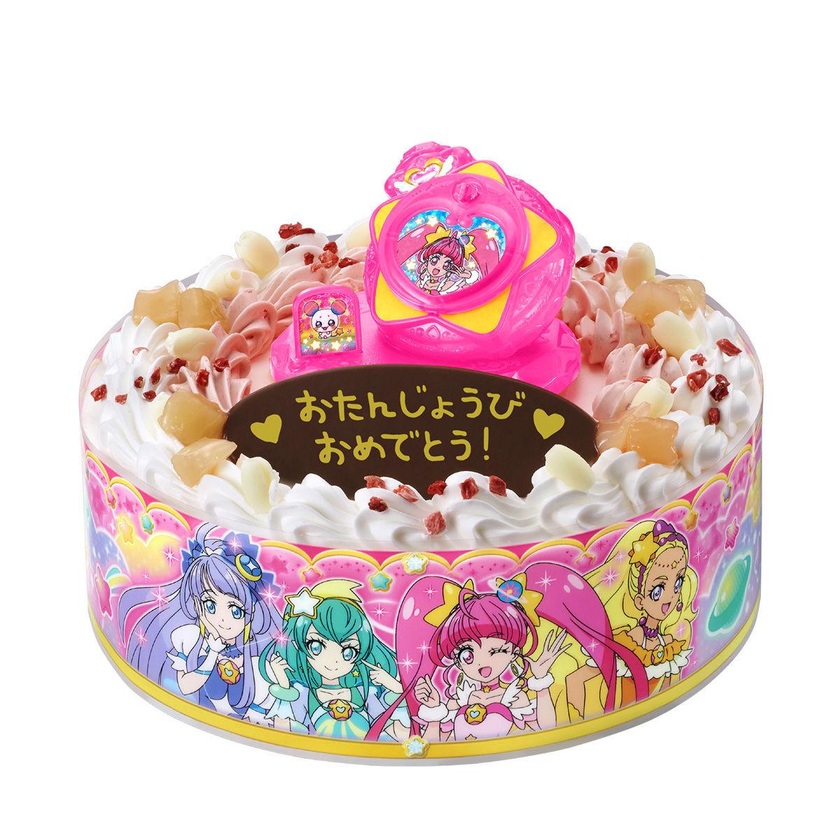 キャラデコお祝いケーキ スター☆トゥインクルプリキュア[5号サイズ]_8