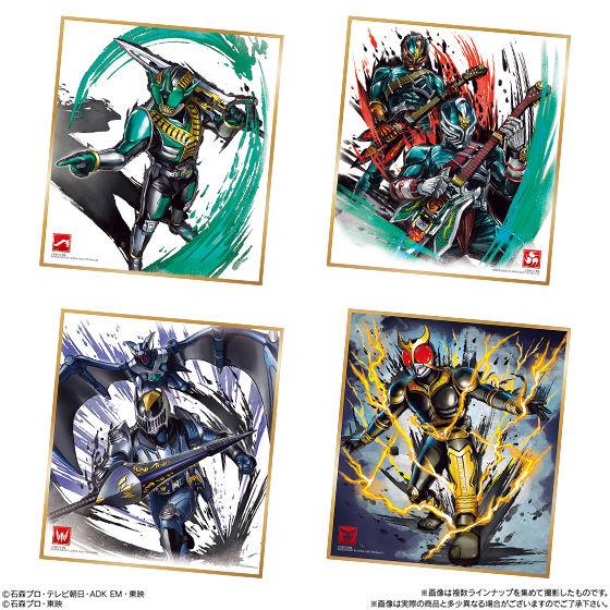 仮面ライダー 色紙ART4_4
