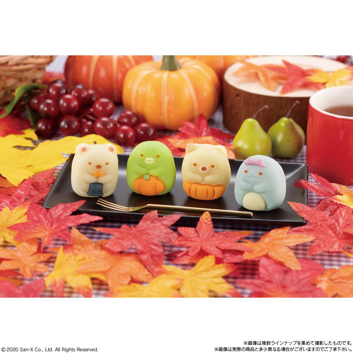 食べマス すみっコぐらし ~秋のおめかしすみっコ~ ねこ・とかげ_4