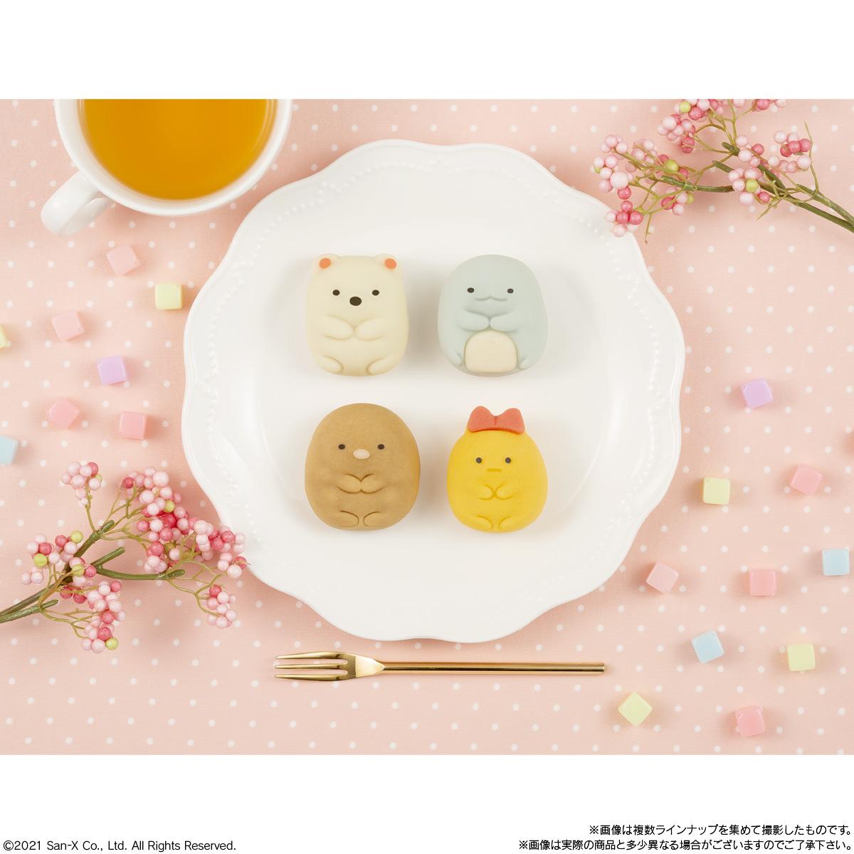 食べマス すみっコぐらし (しろくま・とかげ)_3
