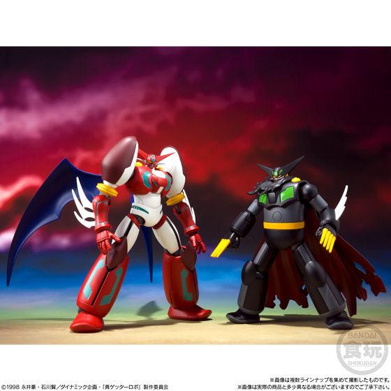 スーパーミニプラ  真(チェンジ!!)ゲッターロボ Vol.1_9