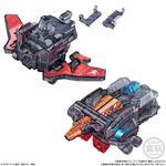 ミニプラ VSビークル合体シリーズSP01 ルパンカイザー&パトカイザー クリアver._4