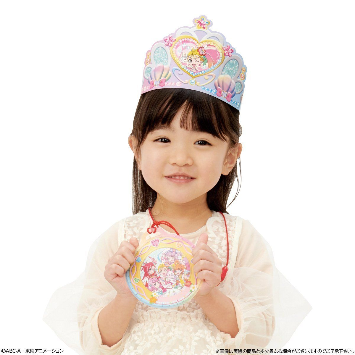キャラデコパーティーケーキ  トロピカル〜ジュ!プリキュア (チョコクリーム)(5号サイズ)_3