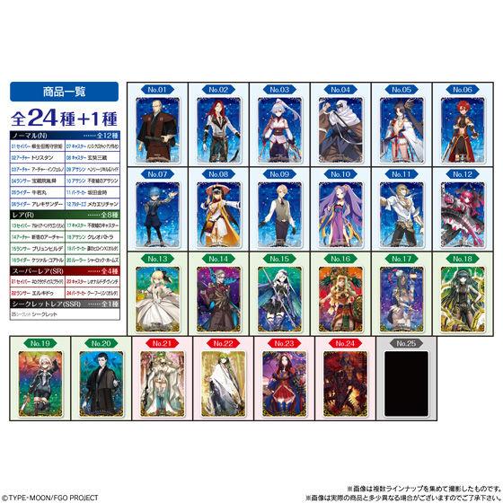 Fate/Grand Orderウエハース3_7