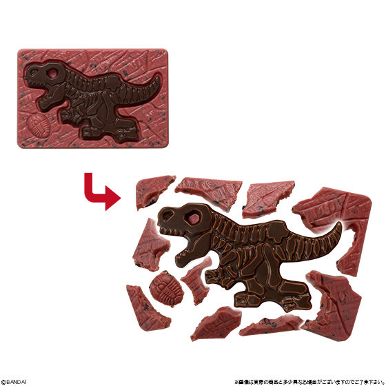 キャラパキ 発掘恐竜ボルケーノVer.(イチゴ味)_3