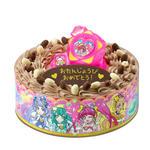 キャラデコお祝いケーキ スター☆トゥインクルプリキュア(チョコクリーム)[5号サイズ]_8