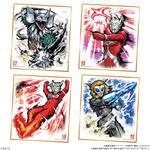 ウルトラマン色紙ART_4