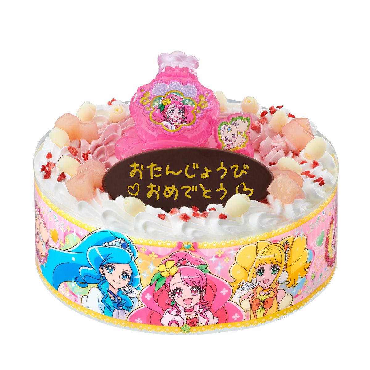 キャラデコお祝いケーキ ヒーリングっど プリキュア[5号サイズ]_8
