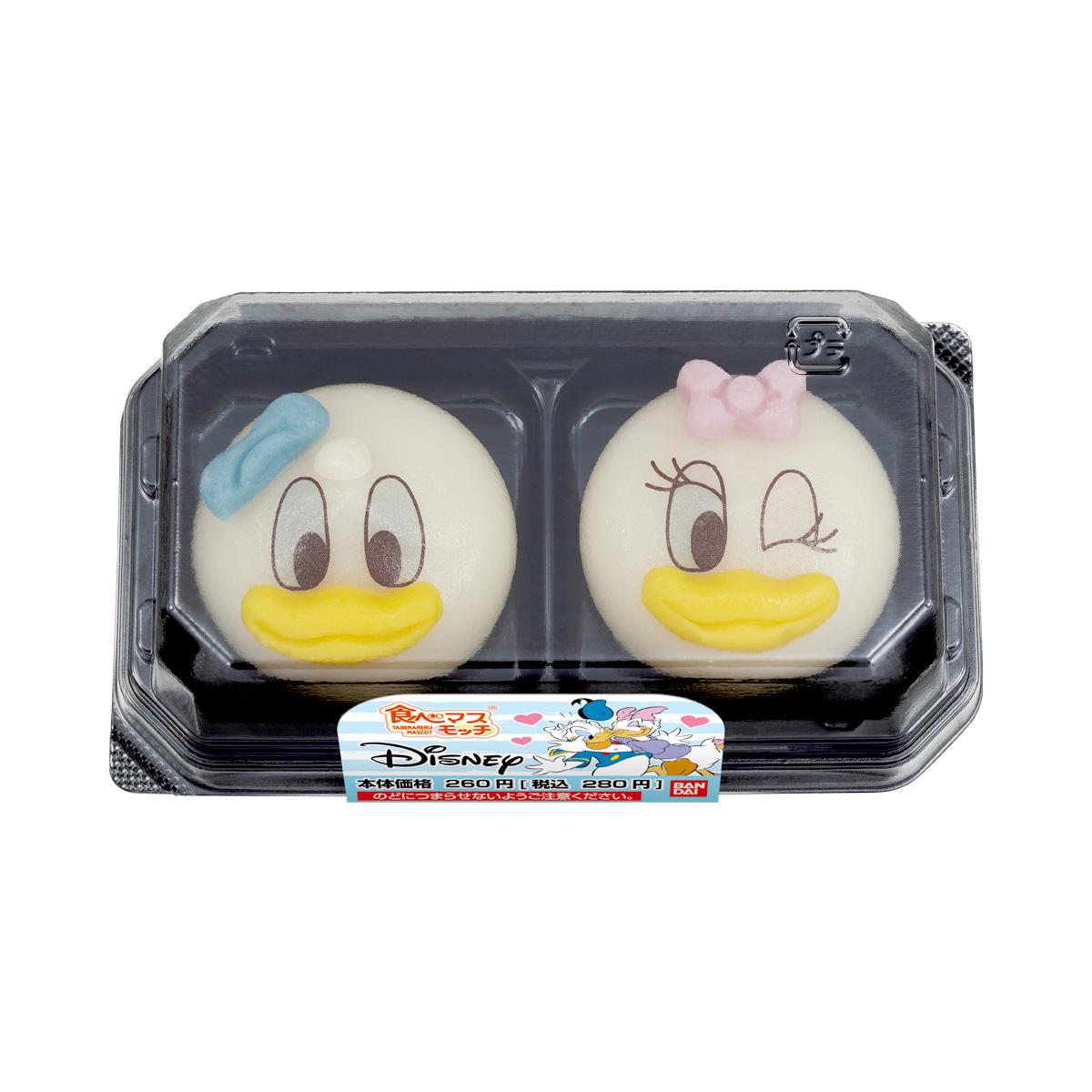 食べマスモッチ Disney ドナルドダック&デイジーダック_0