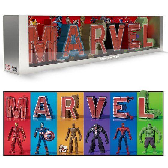 超変換!!もじバケる MARVEL COMPLETE BOX_0