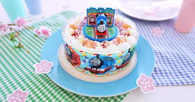 春のお祝い&こどもの日に!トーマスのキャラデコお祝いケーキをご自宅にお届け!!