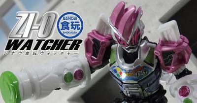 【ジオウ食玩WATCHER vol.06】発売直前SGライドウォッチ01!! 「レベルアップ!!」天才ゲーマーにアーマータイム!!