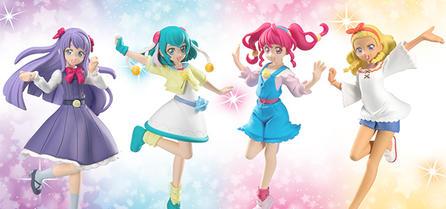 食玩グラビア「スター☆トゥインクルプリキュア キューティーフィギュア2」を更新しました