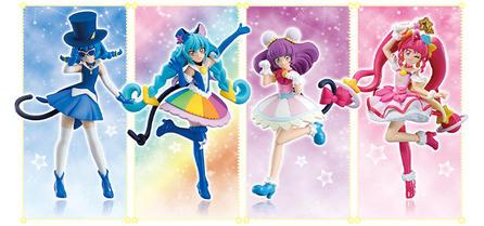 食玩グラビア「スター☆トゥインクルプリキュア キューティーフィギュア3」を更新しました