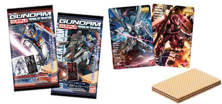 12月の新商品「GUNDAMガンプラパッケージアートコレクション チョコウエハース」を公開しました