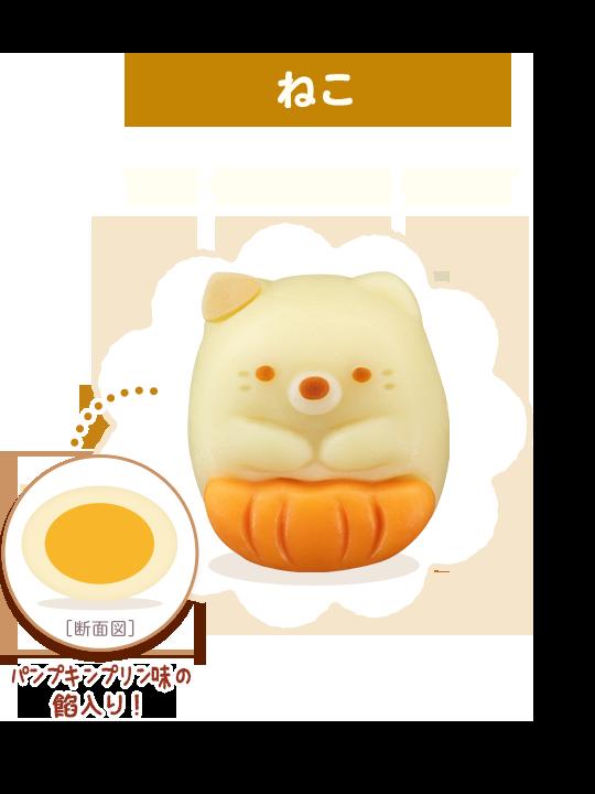 1)ねこ:かぼちゃパンツでおめかししています